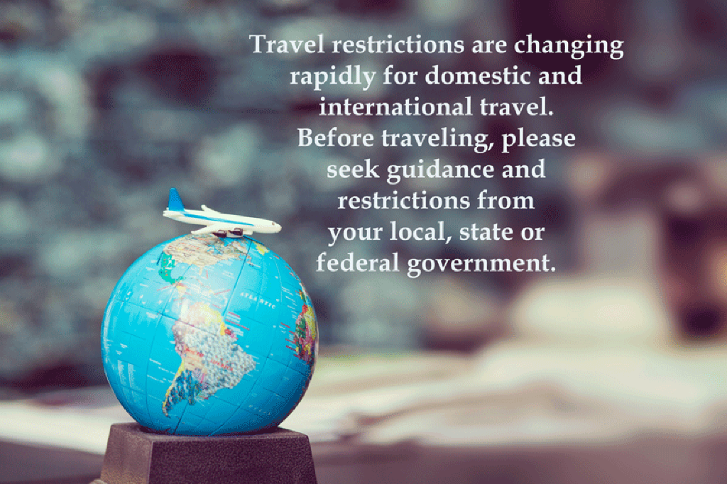 Covid-19 | Coronavirus travel restrictions domestic and international